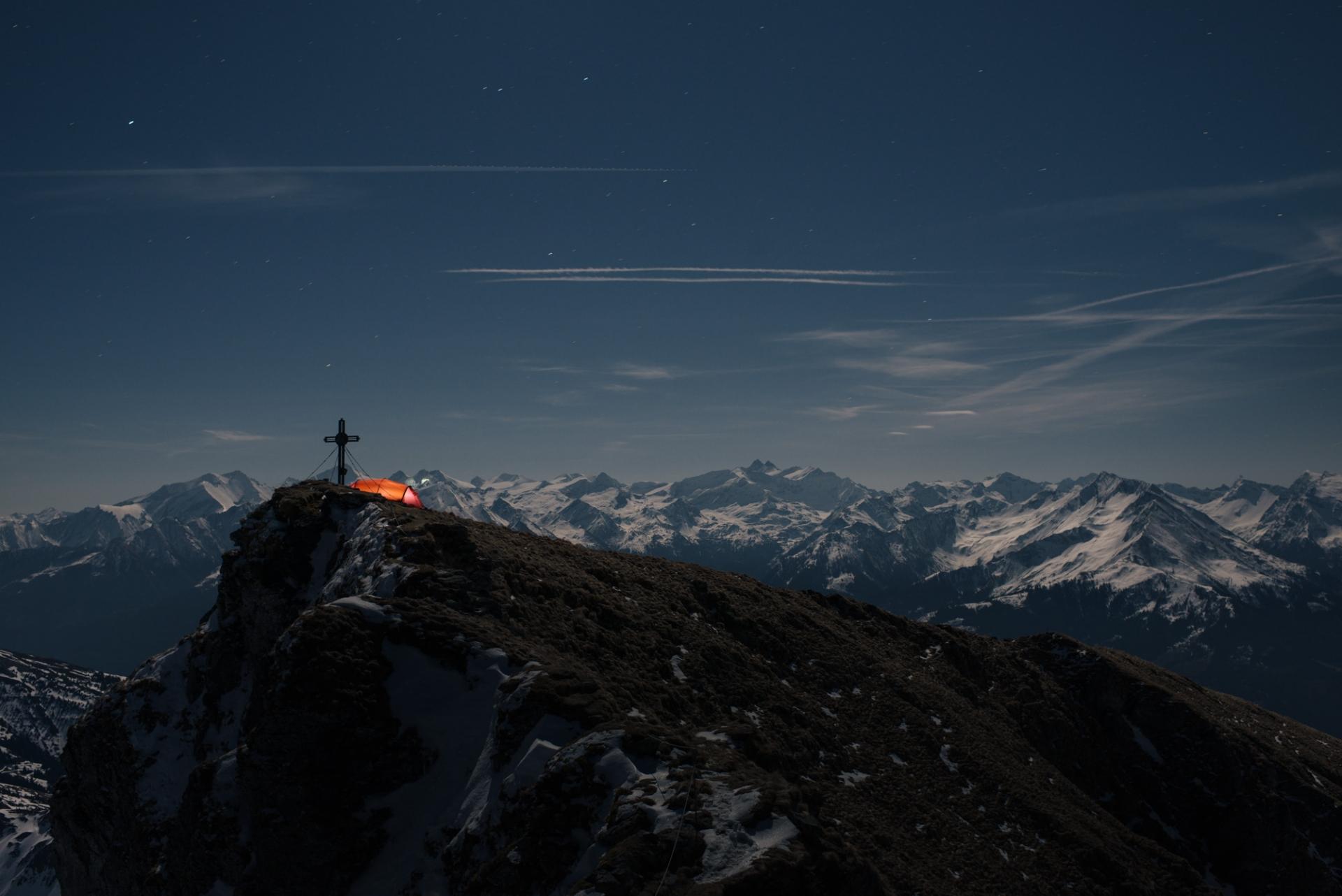 Lukas Schramm Fotografie Biwak Gaisstein, Österreich